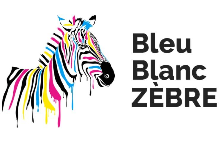 BLEU BLANC ZEBRE