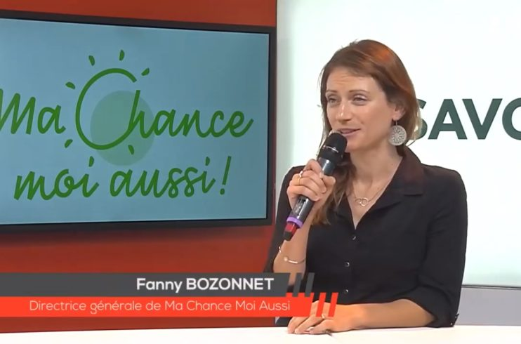 Interview de la Directrice Générale de Ma Chance Moi Aussi pour Savoie News