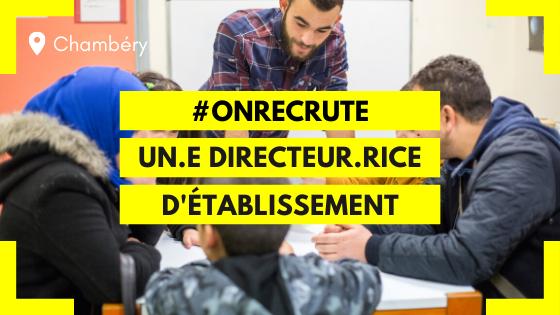 Chambéry - Ma Chance Moi Aussi recherche un directeur d'établissement (F/H)