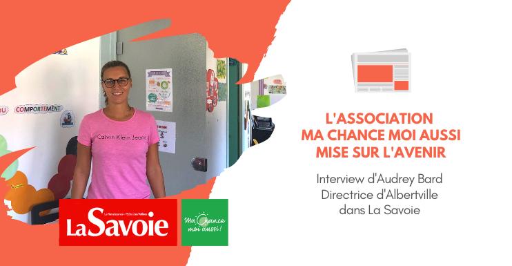 [La Savoie] L'association Ma Chance Moi Aussi mise sur l'avenir