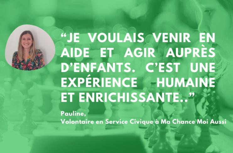 Pauline volontaire en service civique à Lyon 8ième