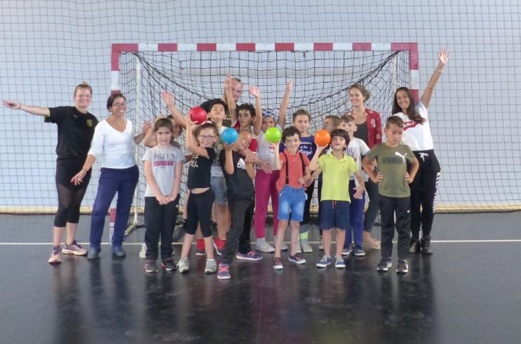 Une matinée pour découvrir le handball